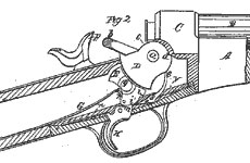 Bildkälla: REMINGTON SOCIETY OF AMERICA. <h3>Patent fig. 2</h3>